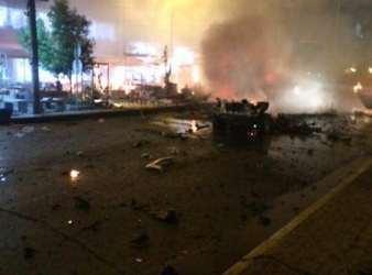 report focus news : Baghdad bombing