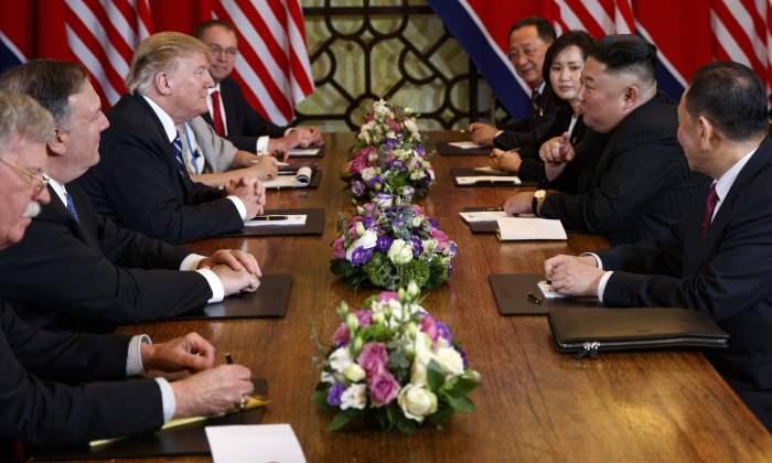 Report Focus News: Donald Trump-Kim Jong-un talks end 'without agreement'
