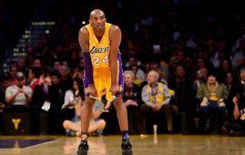 Former LA Laker Kobe Bryant