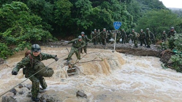 Flood rescue in Kuma Japan Japan Self Defense Force SDF 768x432