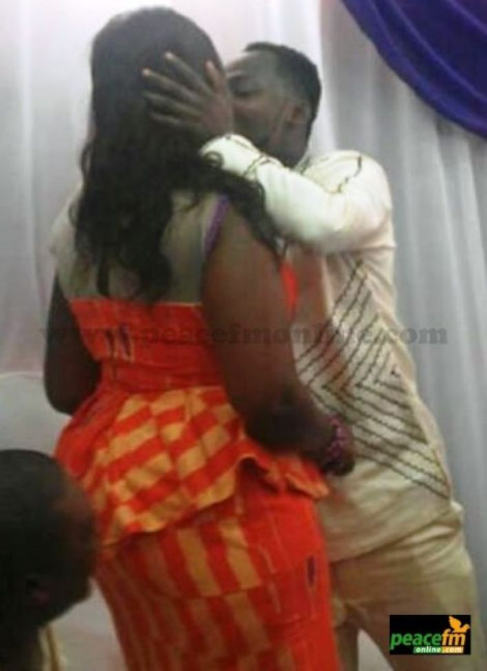 Comedian Funny Face Marries Secretly More Photos  Report Ghana News