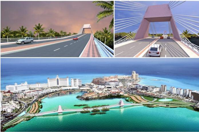 Cancún: puente cruzando Zona Hotelera arranca en unos meses