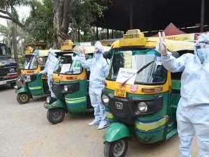 Noida Auto rickshaw ambulance: 20 autorickshaw ambulances will run on the roads, no relief for Corona patients in Noida