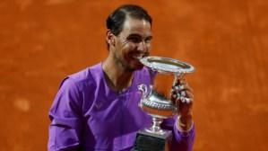 Rafael Nadal wins 10th Italian Open crown after outclassing Novak Djokovic in 3 sets in Rome