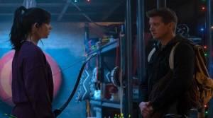 Hawkeye series first look