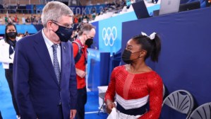 Tokyo 2020: IOC boss Thomas Bach hails 'courageous' Simone Biles for opening up about mental health problems