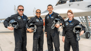 All-civilian SpaceX crew feels only 'good kind' of jitters before launch