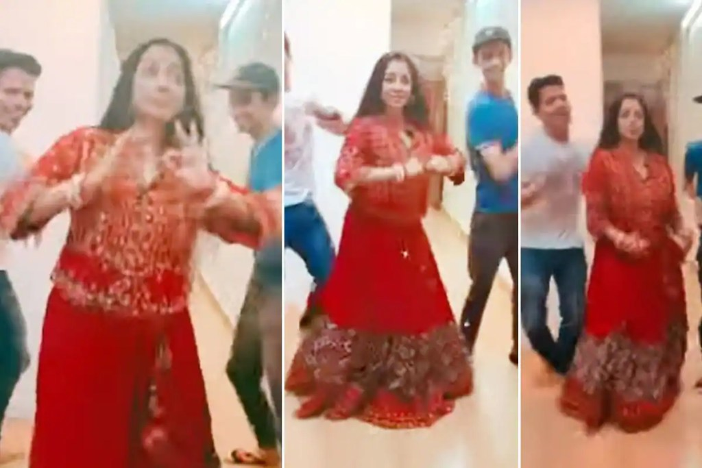 Anupamaa Star Rupali Ganguly Grooves To