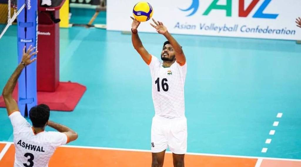 Asian men's volleyball championship: Setback for India in the opener at the hands of lowly Bahrain