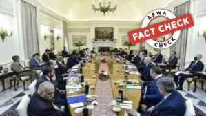 Fact Check: Picture of top foreign intel agencies at the same table in Delhi? Not quite