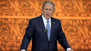 Former US President George Bush warns of danger from domestic terrorists on 9/11 anniversary