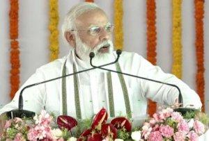 PM Modi's speech in Aligarh: Raja Mahendra Pratap Singh University, defence manufacturing and more