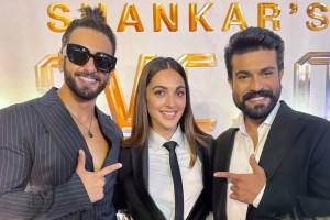 Ram Charan-Kiara Advani Come Together For Grand Launch Of Their Next Film, Ranveer Singh Arrives In Style