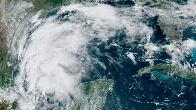 Tropical Storm Nicholas gains strength, threatens to hit Texas as hurricane
