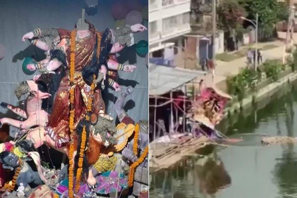 Bangladesh: Islamists unleash violence against Durga Puja celebration of Hindus, several pandals damaged