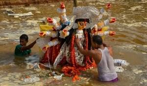 Delhi govt bans Durga Puja idol immersions in public places