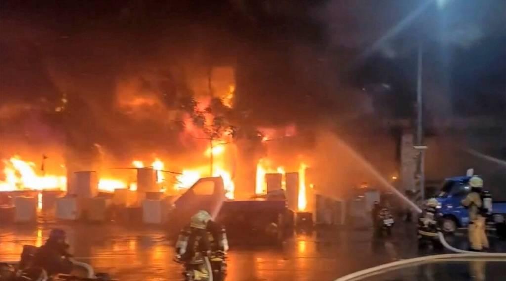Fire leaves 46 dead, dozens injured in southern Taiwan