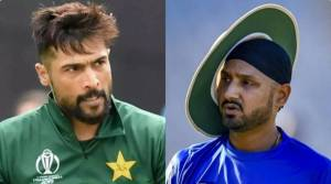 Harbhajan Singh and Mohammad Amir engage in war of words on Twitter