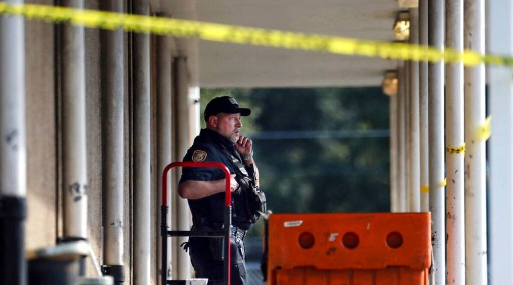 Killed on Zoom: Dad held after toddler finds gun, shoots mom