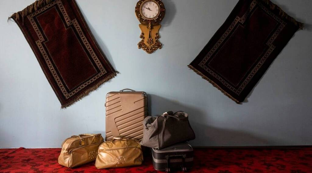 Many Afghans pack their bags, hoping for the chance to leave