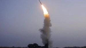 North Korea fires unidentified projectile into sea: South Korea's military