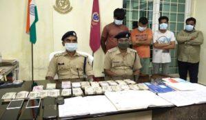Odisha: IPL betting racket busted in Malkangiri; 4 arrested, Rs 27 lakh seized