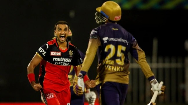 RCB vs KKR: Harshal Patel equals Dwayne Bravo's all-time record with 32 wickets in IPL 2021