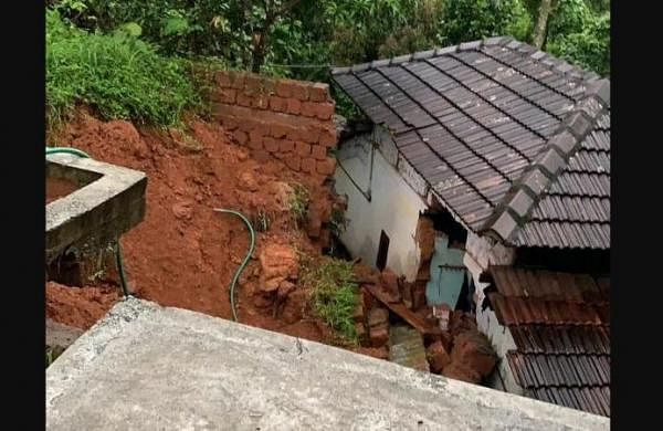 Seven months, seven years old children die in wall collapse in Kerala's Karipur