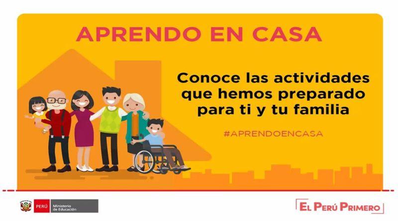 APRENDO EN CASA: Conoce las actividades del día 23 al 30 de marzo ...