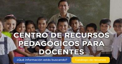 MINEDU: Centro de RECURSOS PEDAGÓGICOS para Docentes