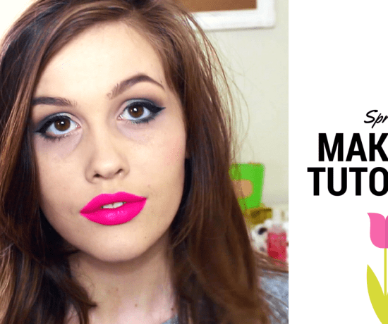 spring makeup tutorial