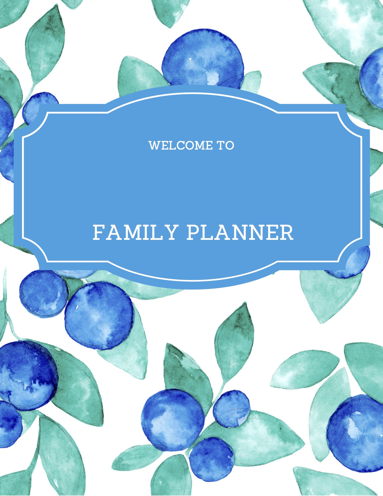 Free Printable Family Planner Meal Plans Contacts And More