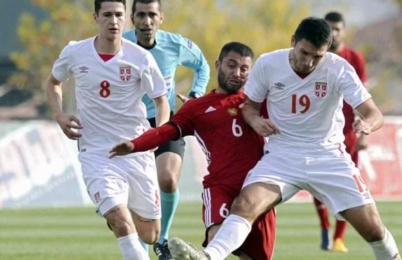U21: Pobeda mlade reprezentacije u Jermeniji, novi gol Lutovca