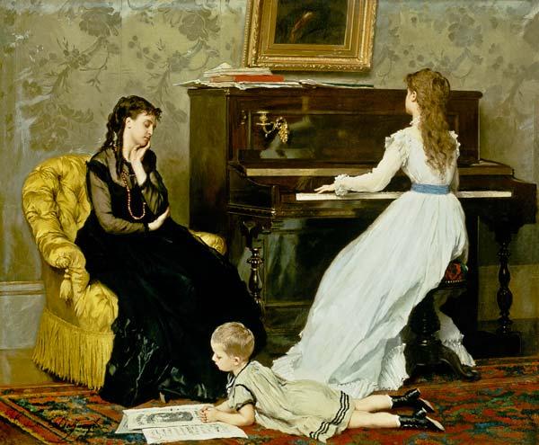 Gustave Léonhard de Jonghe - heure de musique