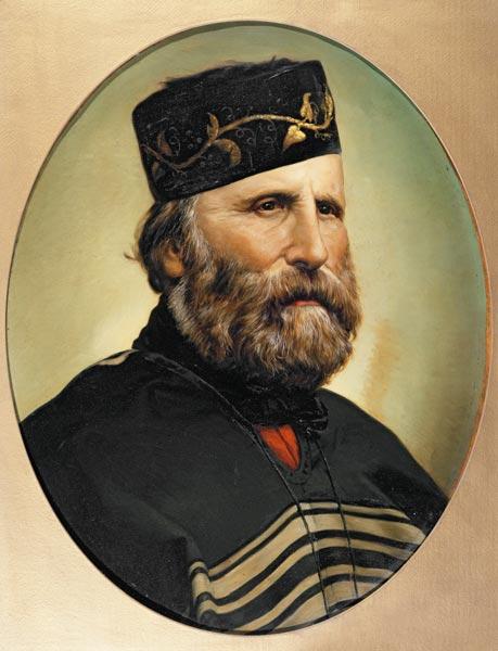 Portrait of Giuseppe Garibaldi - Artist Artist en reproducción ...