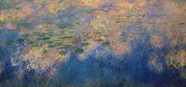 claude-monet-Reflections-of-cloud-water