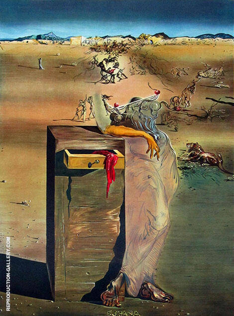 Spain c1936 By Salvador Dali Replica Paintings on Canvas
