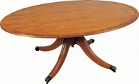 Large Oval Coffee Table - Coffee Tables