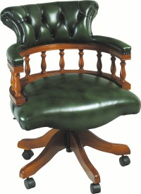 Captains Chair - Leather Chairs