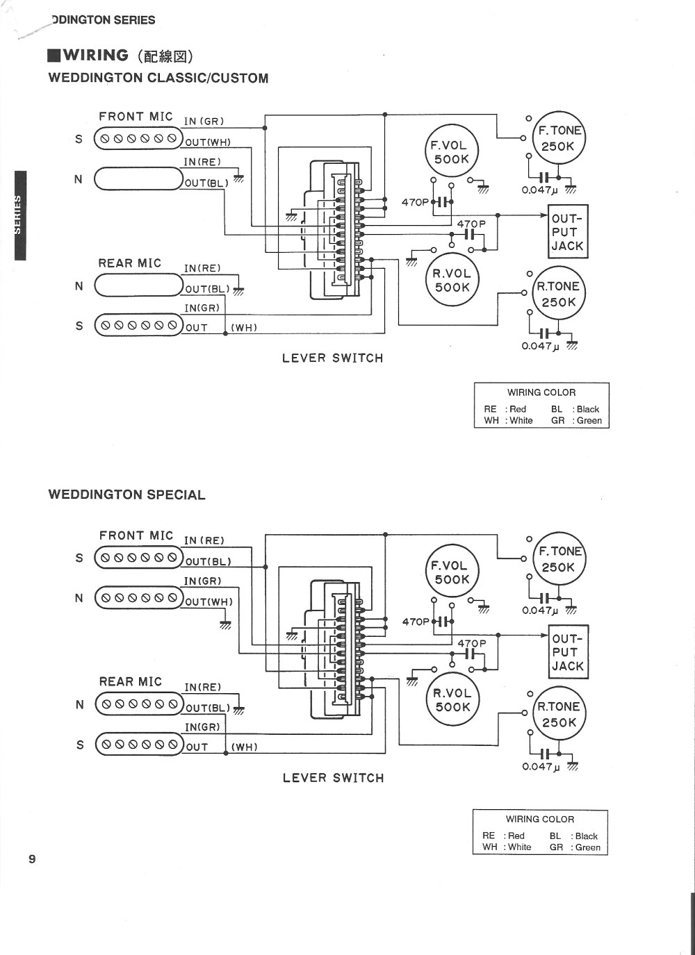 medium resolution of ibanez rs240 wiring diagram yamaha weddington classic custom wiring diagram