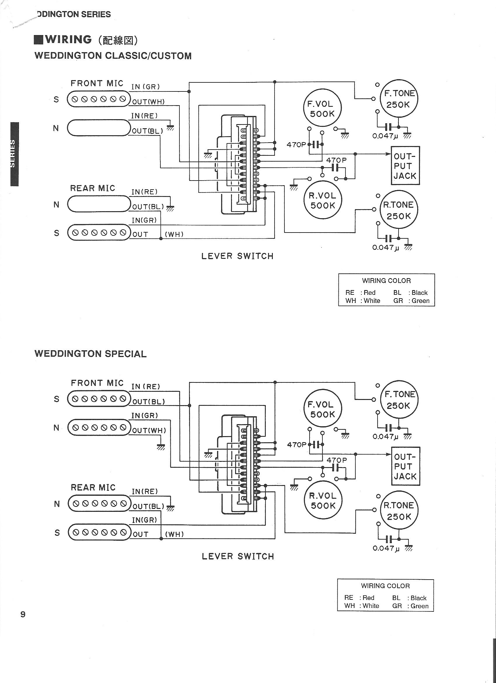 hight resolution of ibanez rs240 wiring diagram yamaha weddington classic custom wiring diagram