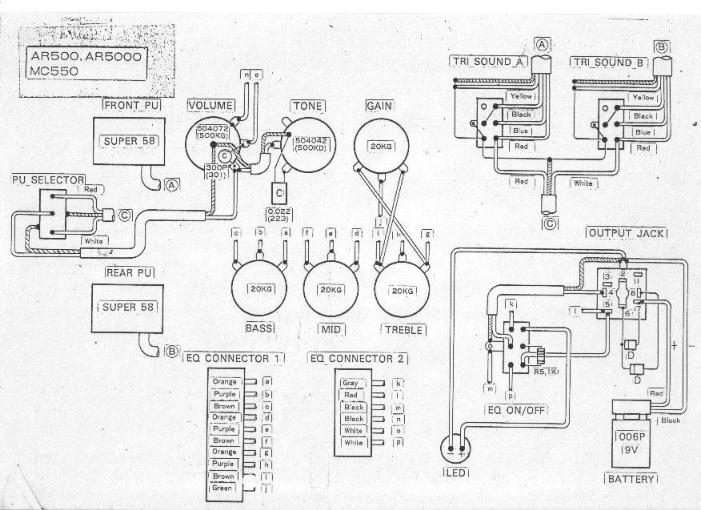 electric guitar wiring guide