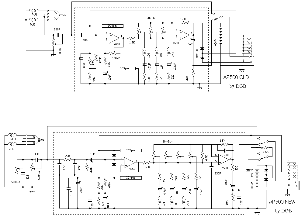 Aguilar Obp 3 Wiring Diagram Help Veroboard For Ibanez And Bartolini Eq