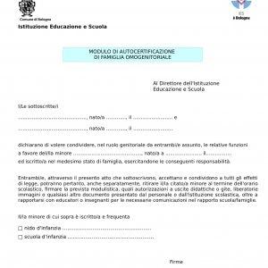 Bologna Moduli Gay Friendly Per Le Famiglie Arcobaleno Il