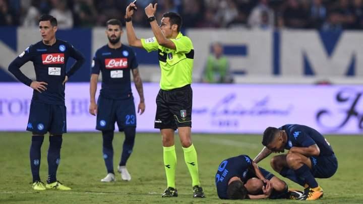 L'infortunio di Milik con il Napoli contro la Spal | numerosette.eu