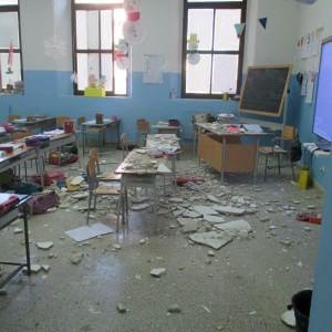 Bagheria, crollo a scuola: i genitori di un bambino ferito vanno in procura
