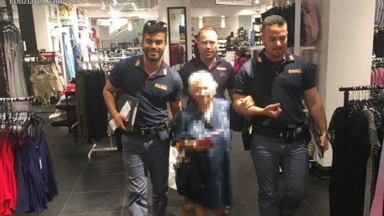 Roma, a 91 anni ruba profumo: agenti pagano di tasca propria e la riportano a casa