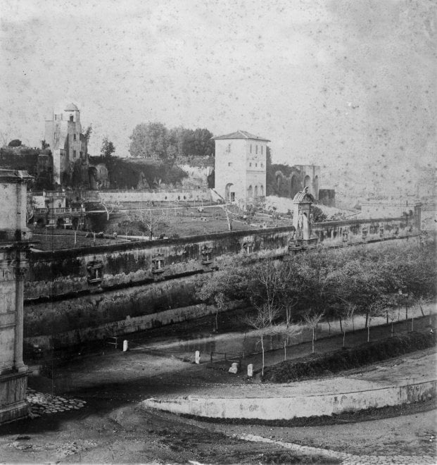 Roma al Palatino riaprono dopo 30 anni i Giardini Farnese