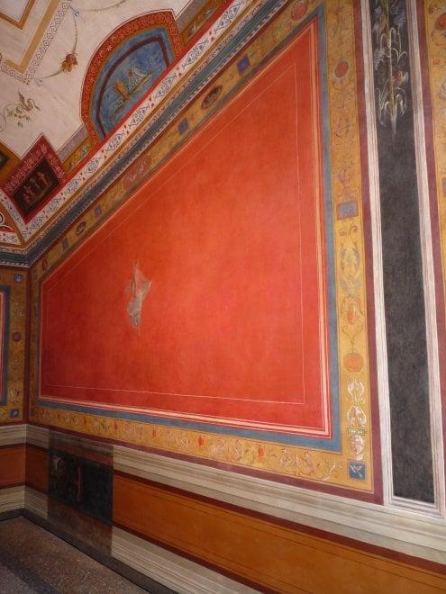 Una Pompei sul Tevere riapre la saletta dell800 Il gabinetto di Marconi  1 di 1  Roma