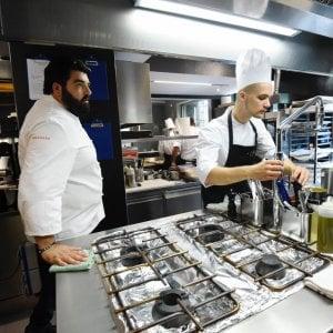 La golosa cucina napoletana del Cannavacciuolo Bistrot